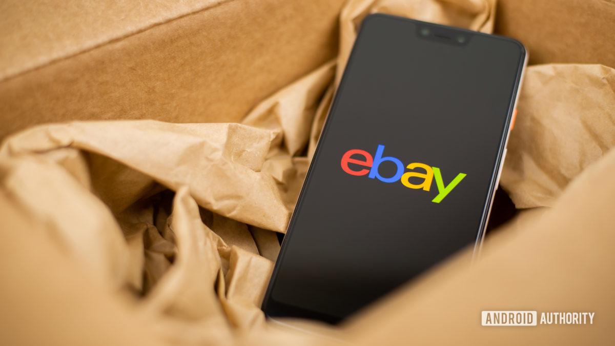 Стоковая фотография eBay 2 - Продажа телефонов
