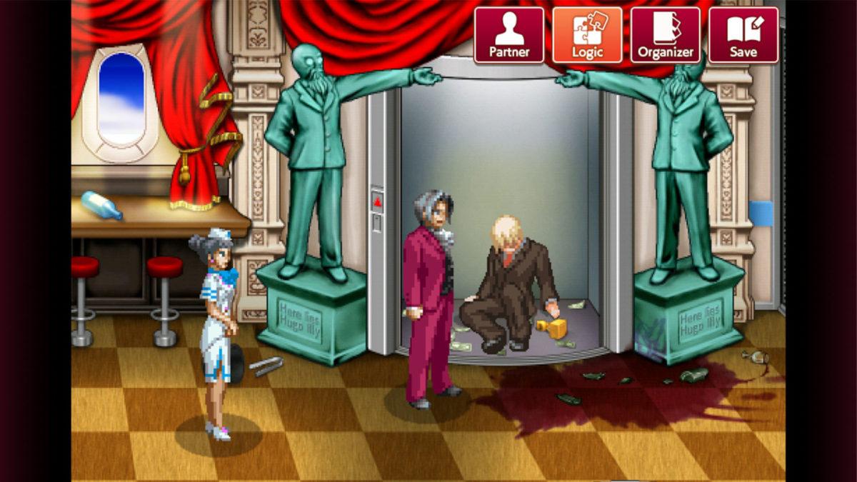 Ace Attorney Investigations лучшие мистические игры для Android