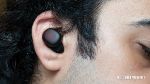 Amazfit Powerbuds Review in ear fit