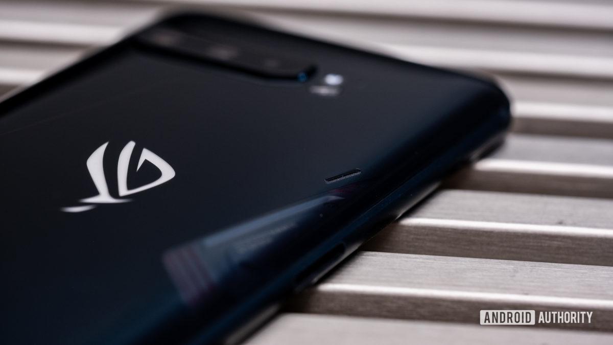 Janela de resfriamento do Asus ROG Phone 3
