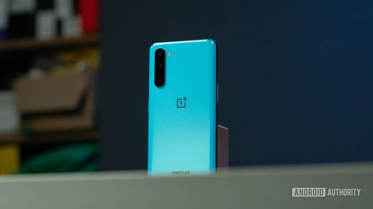OnePlus Nord rear shot hero off angle