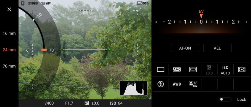 Sony Xperia 1 II Camera Pro Zoom