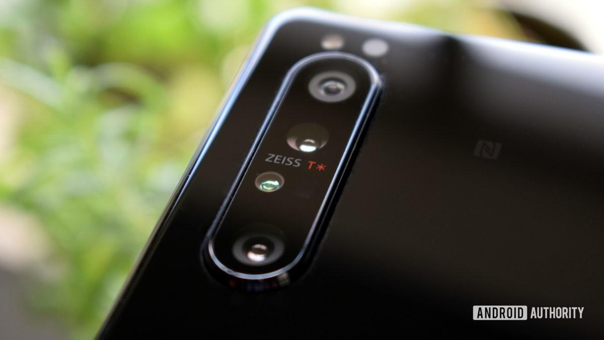 Sony Xperia 1 II камера