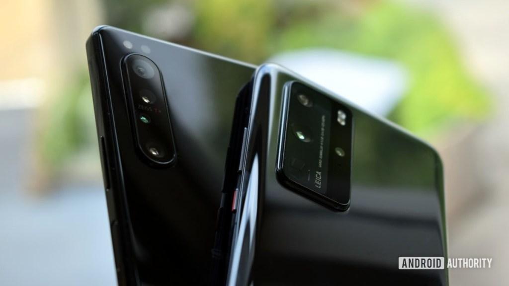 Sony Xperia 1 II против камер Huawei P40 Pro
