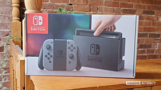 What comes with Nintendo Switch Box