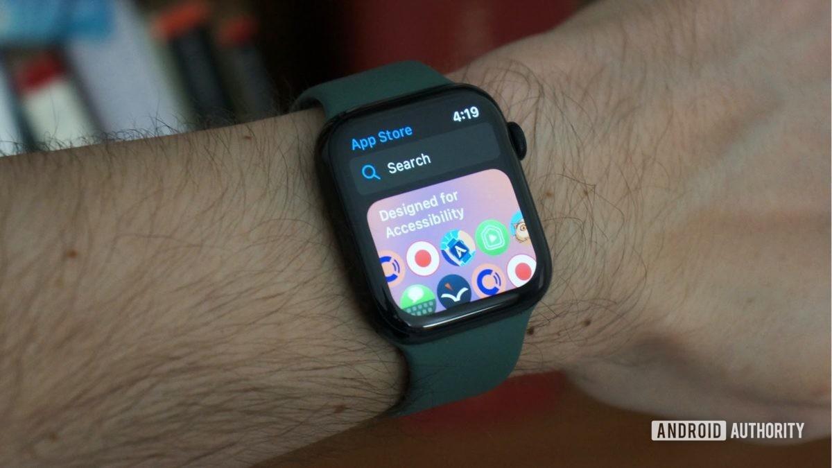 Apple Watch Series 5 магазин приложений