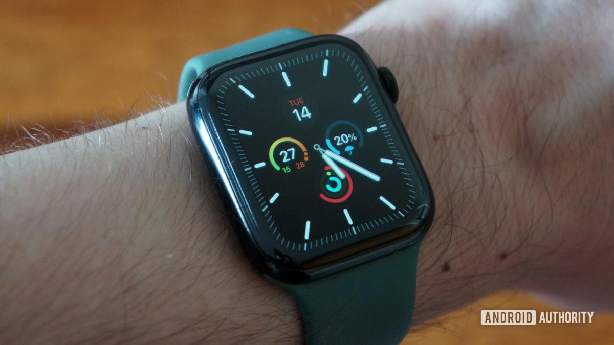 Apple Watch Series 5 циферблат меридиана