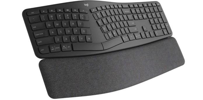 best keyboards logitech ergo k860