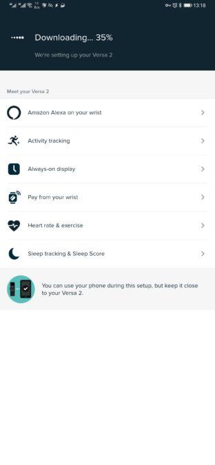 трекер обновлений приложения fitbit