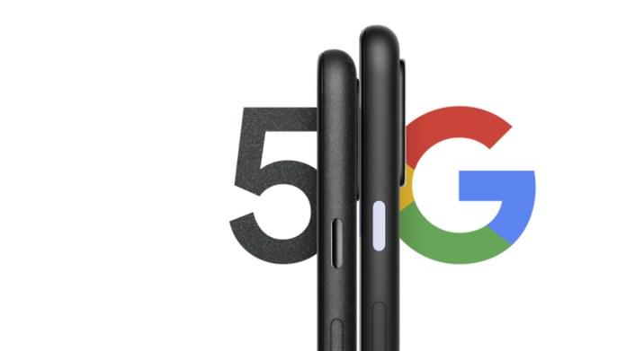 Google Pixel 5 לצד 4a 5G