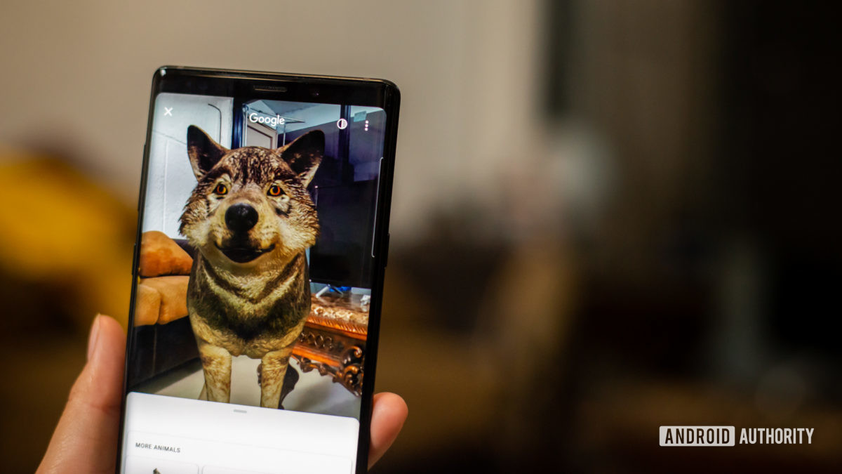 Поиск в Google 3D-животные 6