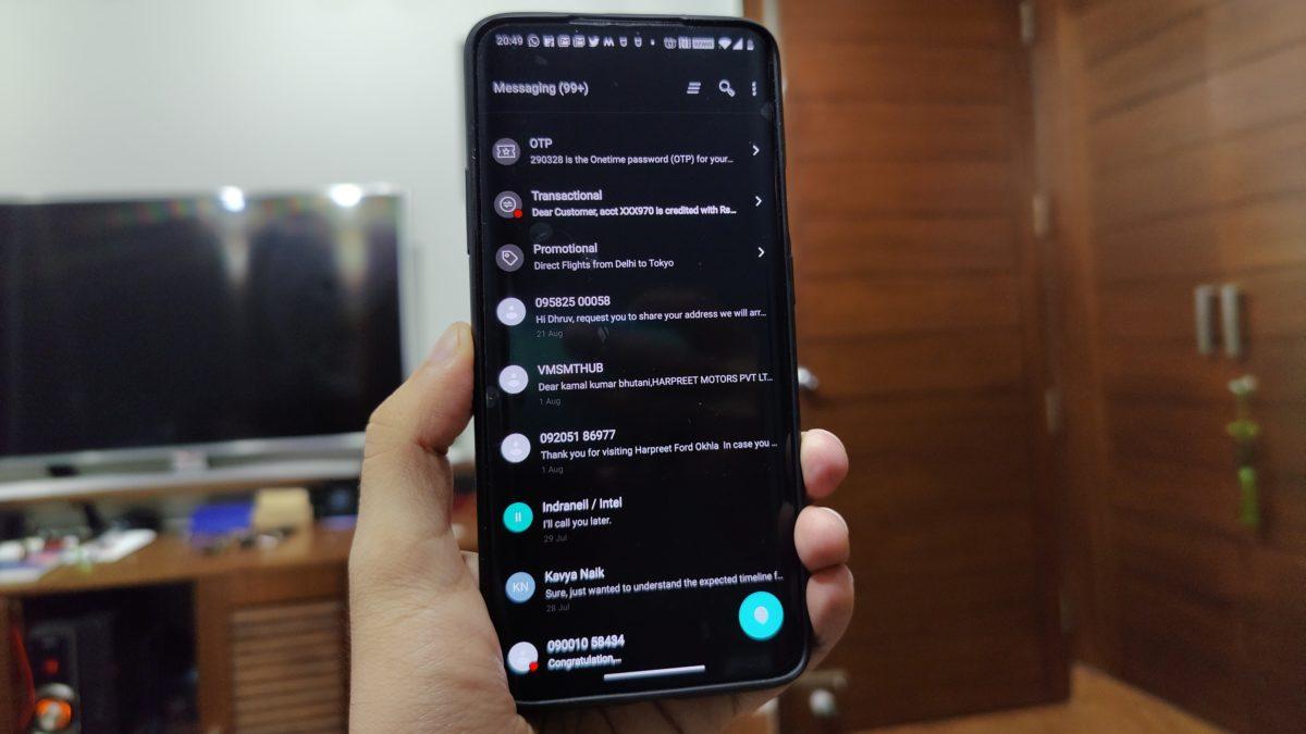 Умные SMS OnePlus