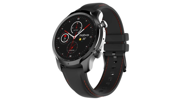 mobvoi ticwatch 3 pro smartwatch