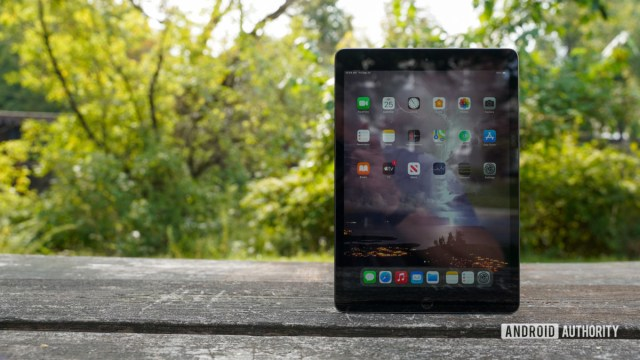 Apple iPad 2020 front panel offset