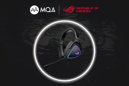 Asus ROG Delta S MQA gaming headset render