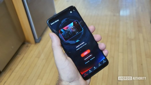 Asus ROG Phone 3 Front In Hand