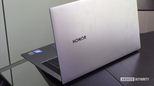 Honor MagicBook Pro back