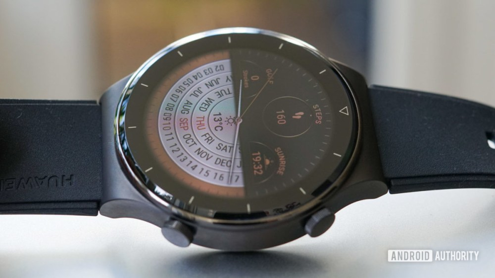 Huawei Watch GT 2 Pro sapphire glass watch face