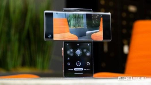 LG Wing gimbal camera mode