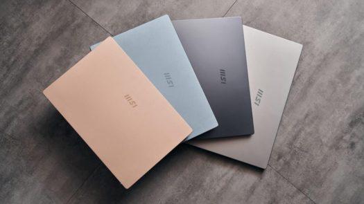 MSI Modern Series Laptop Colorways