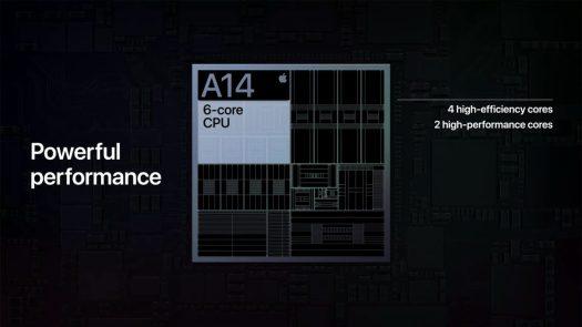 apple a14 bionic chip 6 core cpu