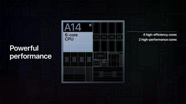 Apple A14 Bionic Chip 6 ядерный процессор