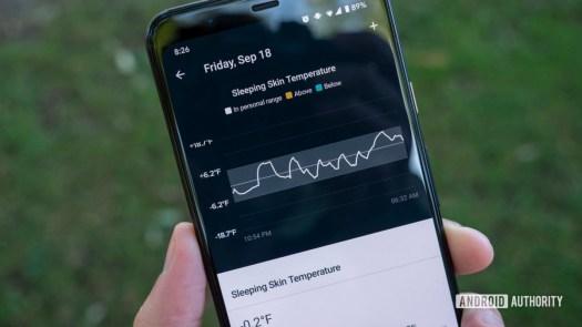 fitbit sense review fitbit app skin temperature1