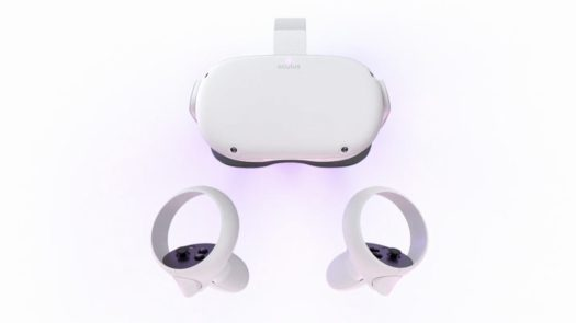 oculus quest 2 vr headset touch controllers
