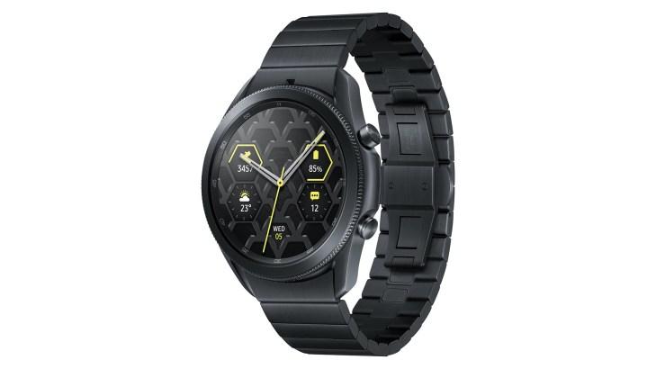 samsung galaxy watch 3 titanium black
