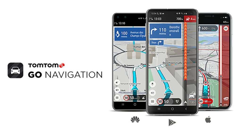tomtom go huawei android ios