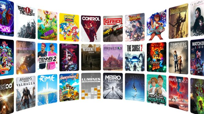 Amazon Luna games