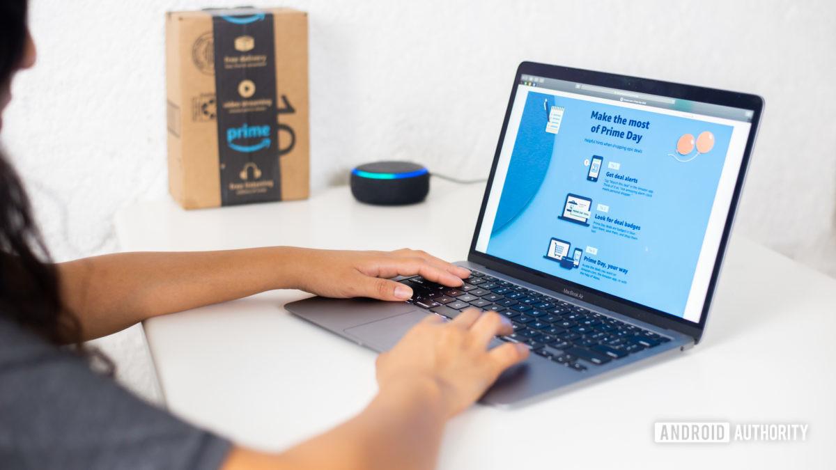Amazon Prime Day покупки на ноутбуке 1 - как смотреть видео с Amazon Prime по телевизору