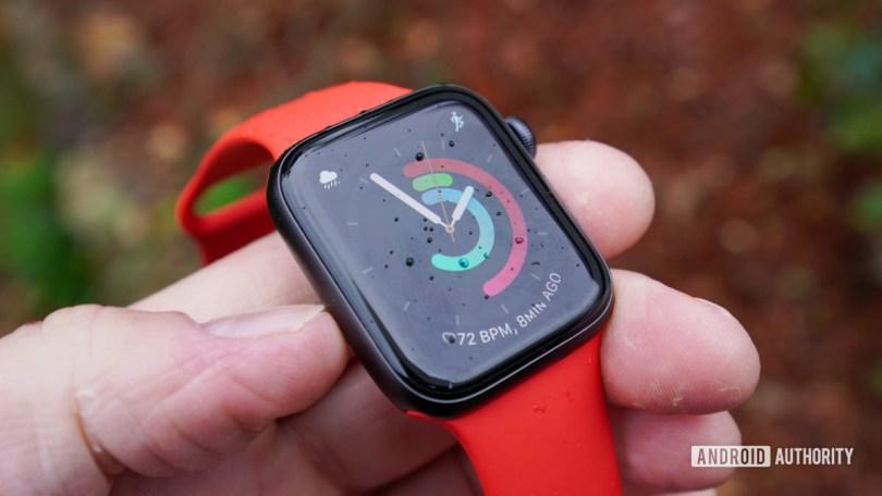 Apple Watch SE left profile