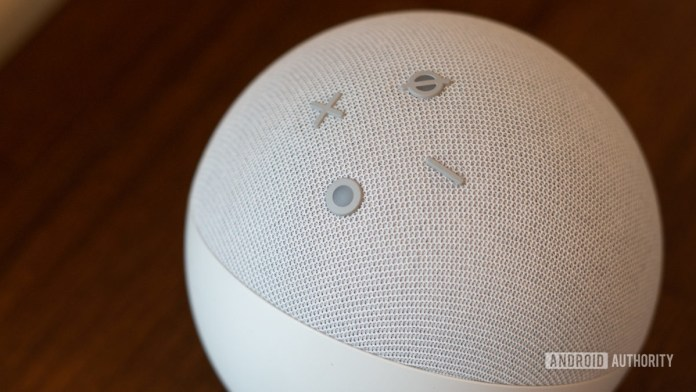 Media control of the fourth generation of Echo Dot 2020