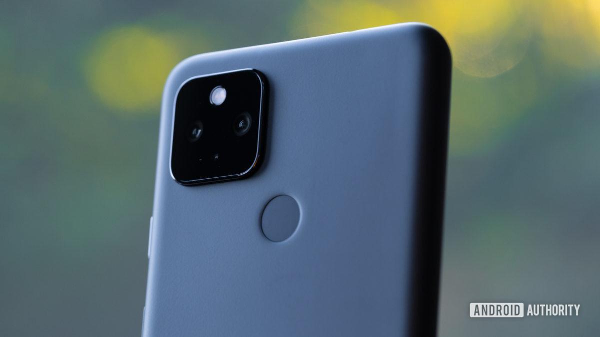Macro 2 da câmera Google Pixel 4a 5G