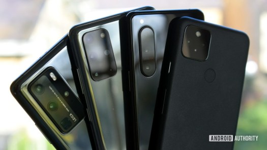 Google Pixel 5 vs Huawei P40 Pro vs Sony Xperia 5 II vs Samsung Galaxy S20 Plus 2