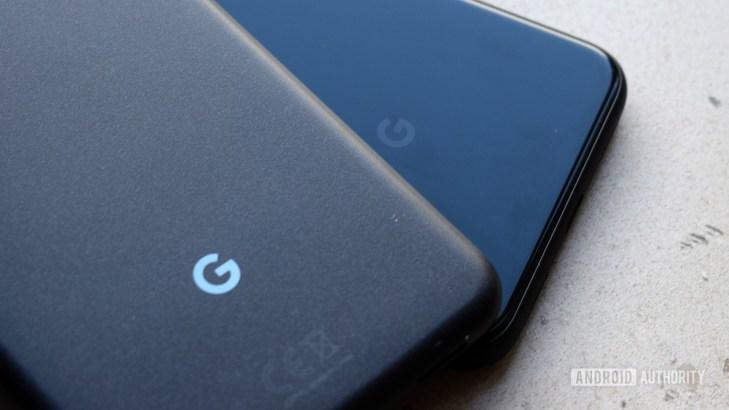 Google Pixel logos