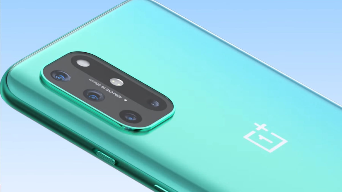 OnePlus 8T Official Aquamarine Green