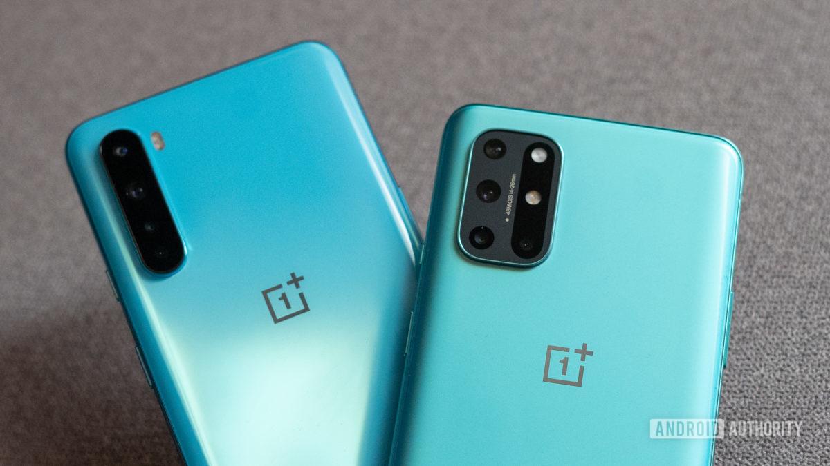 OnePlus 8T против Nord: задние камеры крупным планом