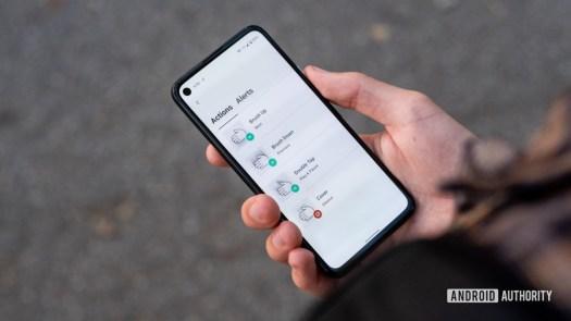 Samsonite Konnect i with Google Jaquard using app 2