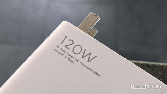 Xiaomi 120W şarj cihazı 1