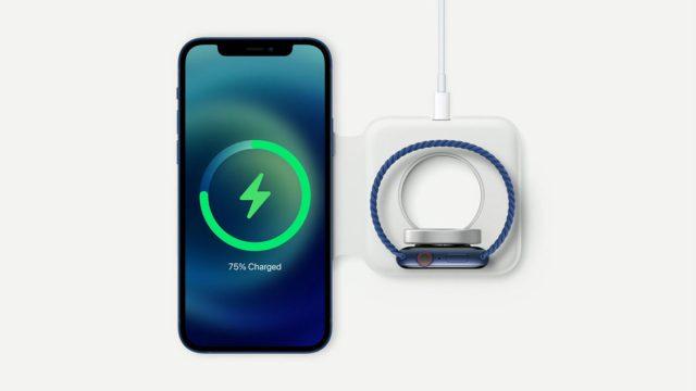 apple iphone 12 magsafe беспроводной зарядки