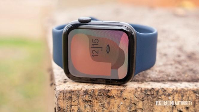 apple watch series 6 review artist watch face display 3