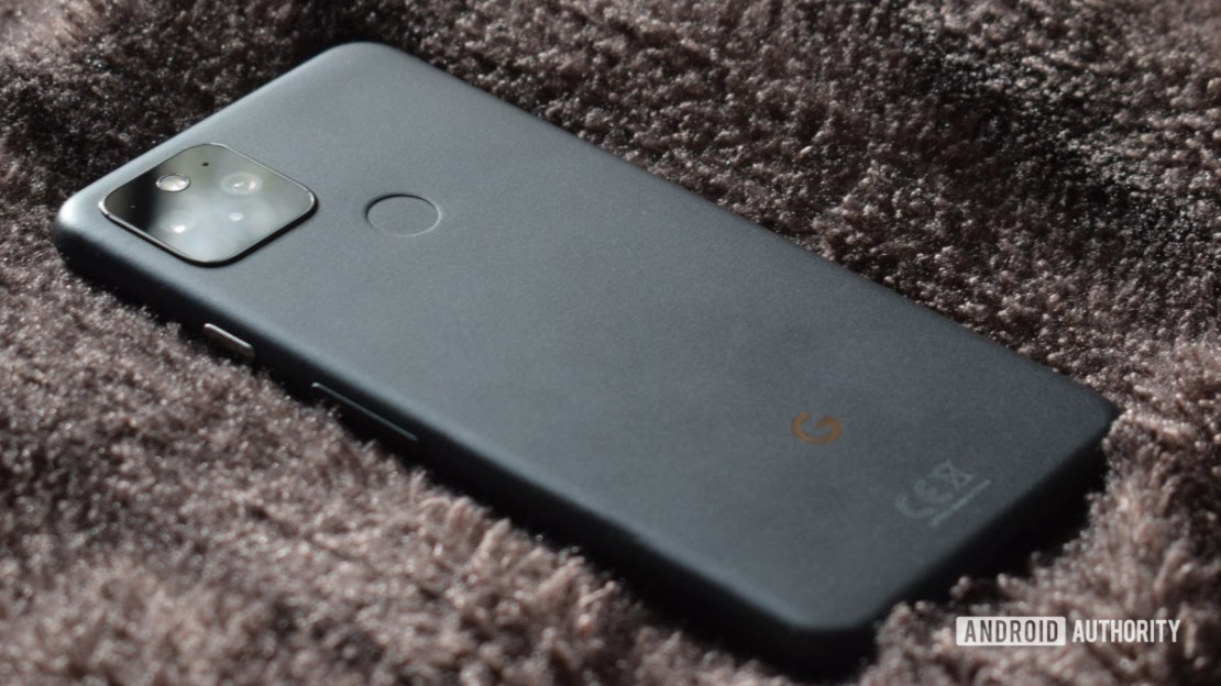 Google Pixel 5 Grey Back 2 Android June 2021 security update