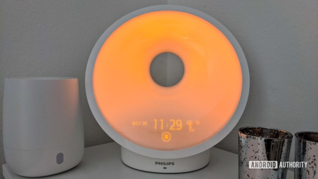 Philips SmartSleep Светло-оранжевый закат