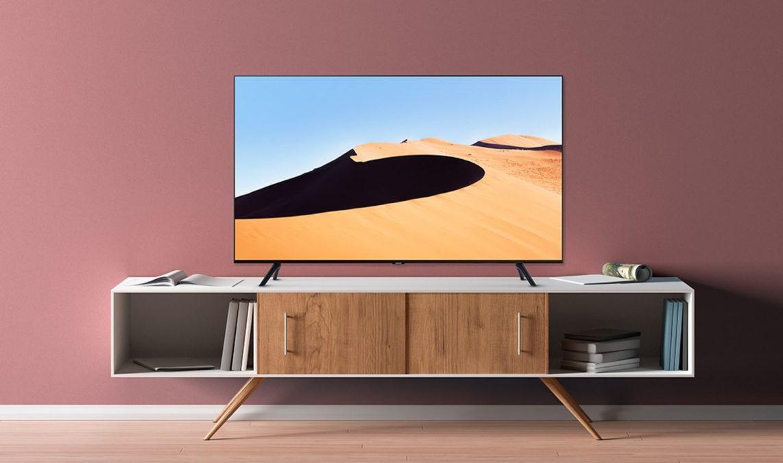 Samsung 70 polegadas classe 6 série LED 4K UHD Smart Tizen TV foto promocional 2