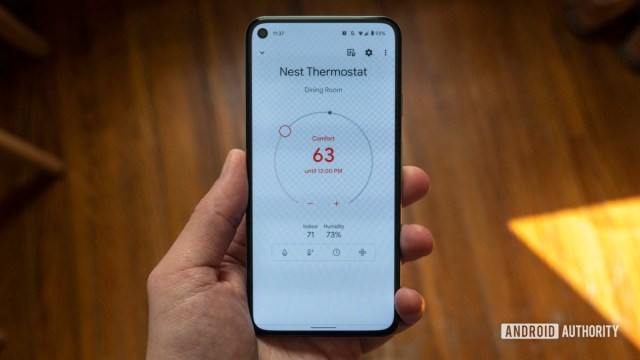 google nest thermostat review google home app temperature dial 1