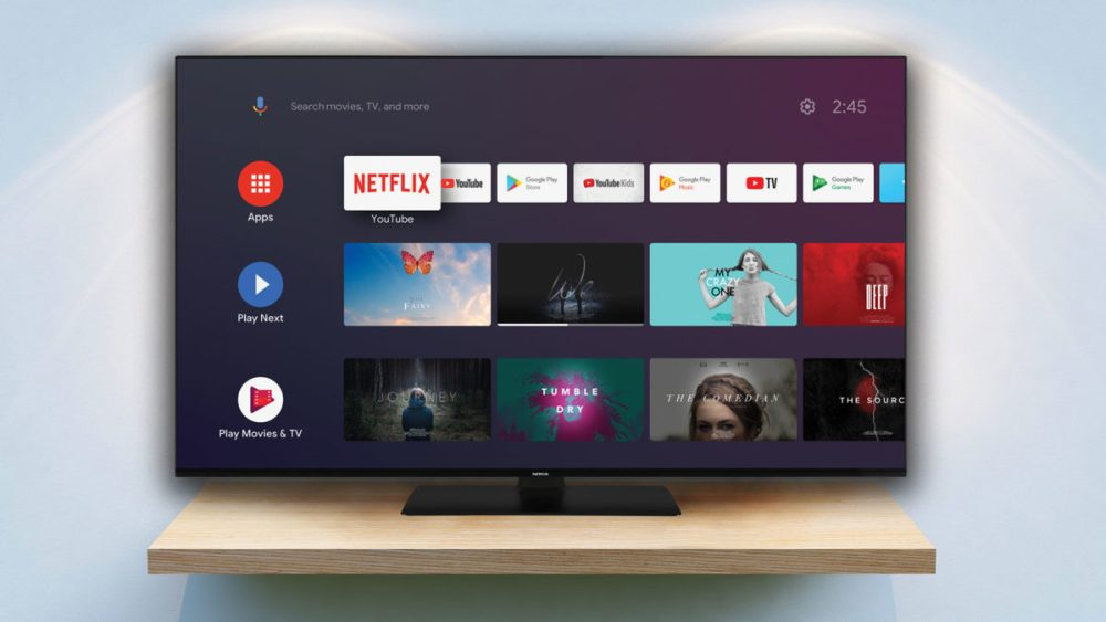 Nokia smart tv 5500a with Android