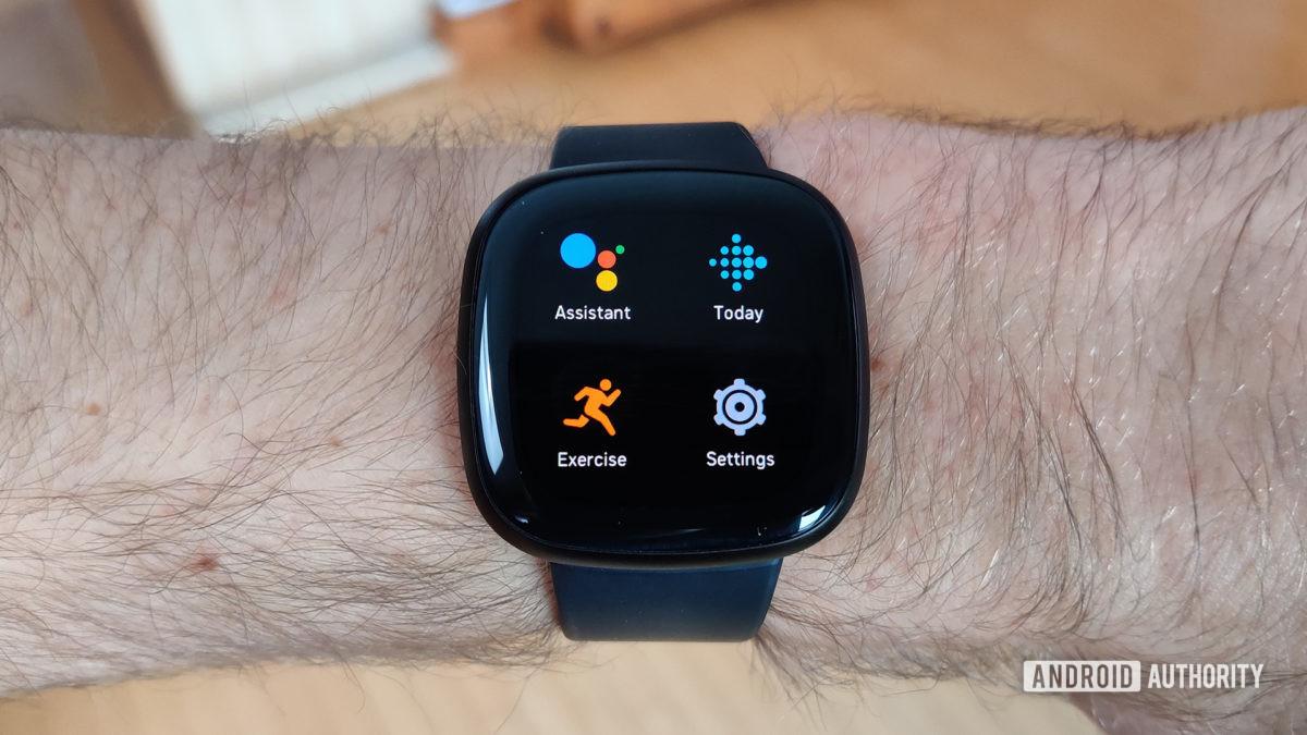 Apps de revisão Fitbit Versa 3