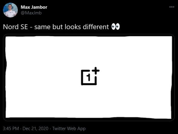 OnePlus Nord SE Max Jambor